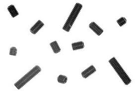 Kyosho M3 Set Screws 3 x 3, 3 x 4, 3 x 5, 3 x 10 Package of 3 ea