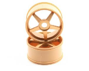 Kyosho Inferno GT 5-Spoke Wheel Set (2) (Gold)