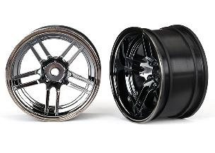 Traxxas 1.9' split-spoke wheels (wide, rear) TRA8372