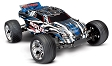 Traxxas Rustler 1/10 Scale Stadium Truck. Ready-To-Race with TQ