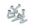 Hex screw with flat head M3x12. Set of 10 pieces.