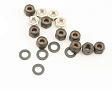 Losi Tie Rod Set W/Ball Cups (Mini-LST) LOSB0922 (COPY)