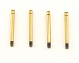 Losi Shock Shaft Set, Ti Nitride (4) (MLST/2) LOSB0961