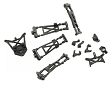 Losi Suspension Arms, Spindles, Hubs and Shock Towers (Micro-T)